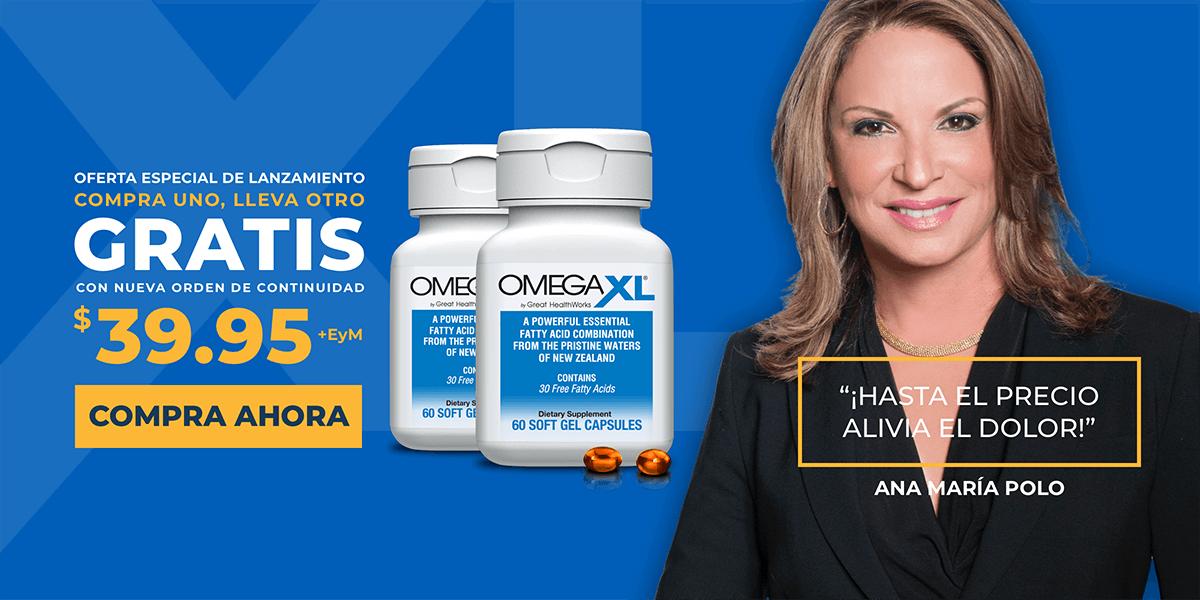OmegaXL en Español - Omega XL by Great HealthWorks - Omega 3